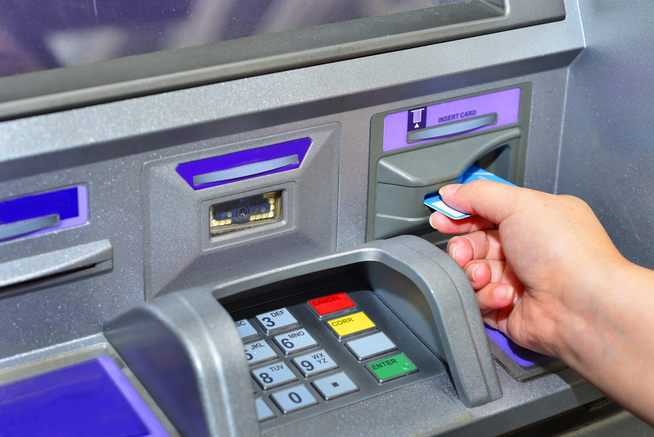 Customer-using-ATM